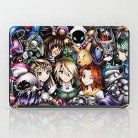 the legend of zelda iPad Cases featuring The Legend of Zelda by Sandra Ink