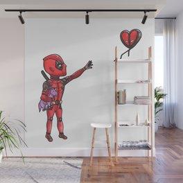 Unicorn and Balloon Wall Mural
