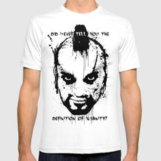 Far Cry 3 - The Definition of Insanity SMALL White Mens Fitted Tee