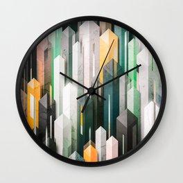 obelisk posture 3 (variant 2) Wall Clock