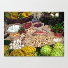 Healthy ingredients Canvas Print