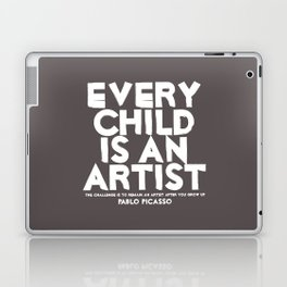 Artist - Quotable Series Laptop & iPad Skin