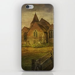 St Clement's Old Romney From The East iPhone Skin
