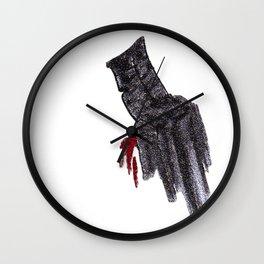 Tis but a Scratch 2 Wall Clock