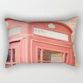 Telephone Box Rectangular Pillow