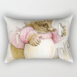 Mrs Tiggywinkle Rectangular Pillow