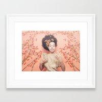 discount Framed Art Prints featuring Crown & Glory - (Valentine's Day Discount) by NDAVISSTUDIO