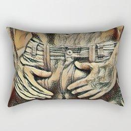 Picasso's Boner Rectangular Pillow