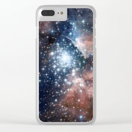 Star cluster Clear iPhone Case