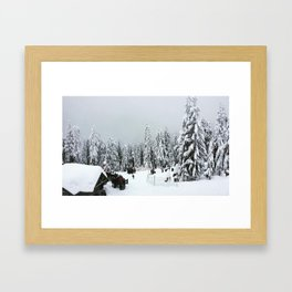 Mountaintop Framed Art Print