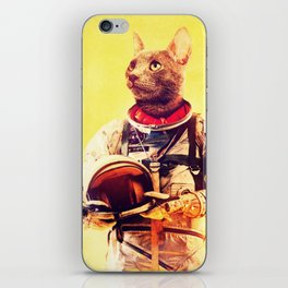Captain Cat iPhone Skin