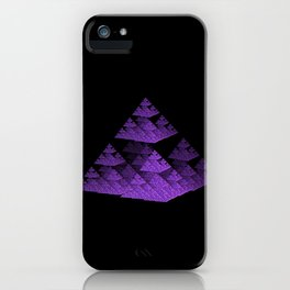 3D Fractal Pyramid iPhone Case