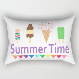 Summer Time Rectangular Pillow