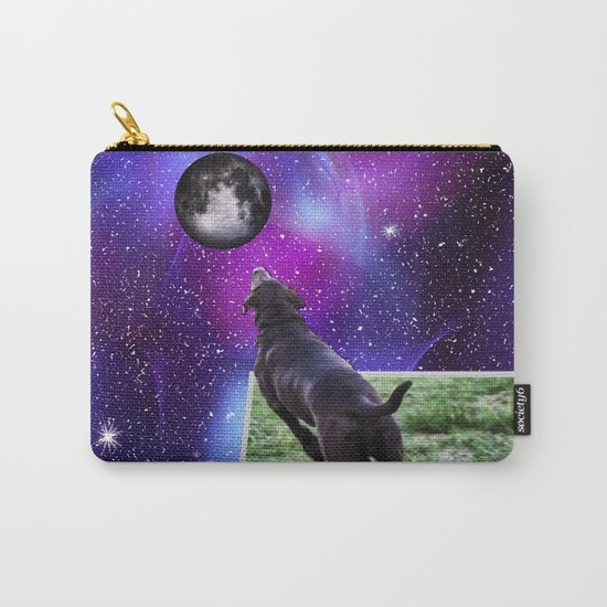 Reaching For The Moon Carry-All Pouch