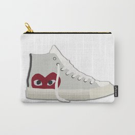 Commes Des Garcons x Converse White High Top Carry-All Pouch