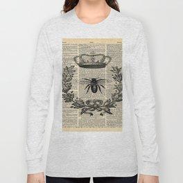 Paris french  garden farmhouse beekeeper honey bee queen Long Sleeve T-shirt