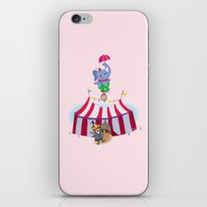 holy high wire! iPhone & iPod Skin