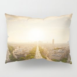 Champs Elysees From the Top Pillow Sham