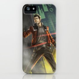 Agent Shan iPhone Case