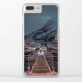 TROMSØ / NORWAY Clear iPhone Case