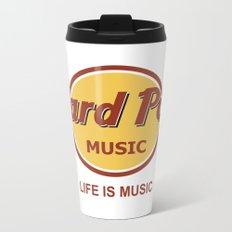 Hard Pop Music Metal Travel Mug