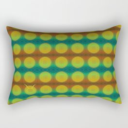Taurus Flower of Life Astrology Pattern Rectangular Pillow