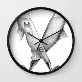 Cut me in quadrants Wall Clock
