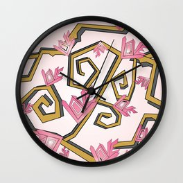 Love Blossoms 1 Wall Clock