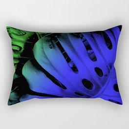 Blue Swiss Cheese Rectangular Pillow