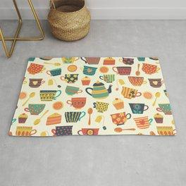 Tea Time Pattern - Sweet Treats Rug