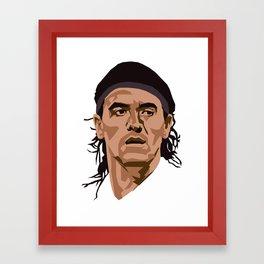Ariel Ortega Framed Art Print