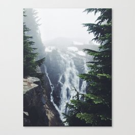 Water on the Mountain Canvas Print