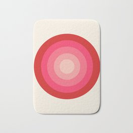 Keepin' on - 70's style retro vibes throwback minimal 1970s art decor gifts Bath Mat