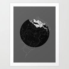 Topos Art Print