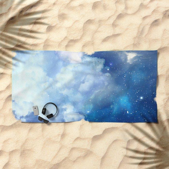 Starclouds Beach Towel