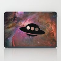 ufo iPad Cases featuring UFO by Ace of Spades