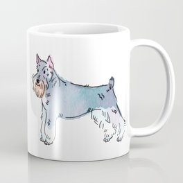 Ash - Dog Watercolour Coffee Mug