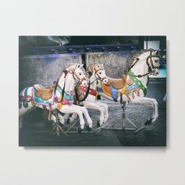 Carousel Three Metal Print