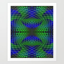 Quadro #7 Art Print