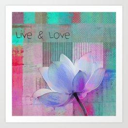 Live n Love - sp 99a Art Print