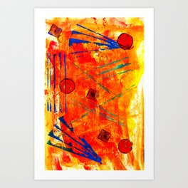 Limbic Blast Art Print