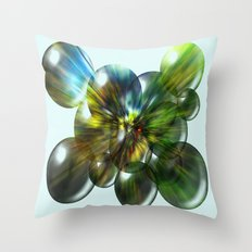 Magic Balls Throw Pillow