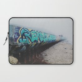 Beach Graffiti Laptop Sleeve