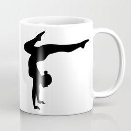 B&W Contortionist Coffee Mug