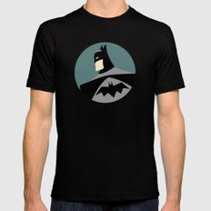 Bat Man Black X-LARGE Mens Fitted Tee