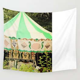 Zoo Carousel Wall Tapestry