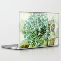 dandelion Laptop & iPad Skins featuring dandelion by clemm
