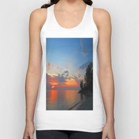 thailand Tank Tops featuring A Thailand sunset by I AmErika