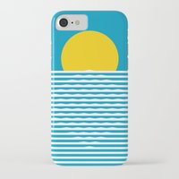 sunrise iPhone & iPod Cases featuring Sunrise by FLATOWL