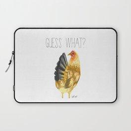 Chicken Butt Laptop Sleeve